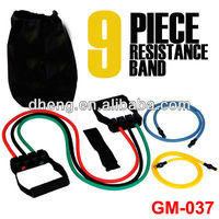 Resistance Training Bands with Adjustable handle workout gym yoga fitness abs
