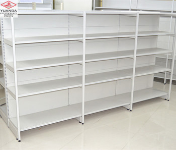 Alibaba store general store items south American style display rack shelf