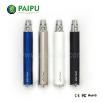 Rechargeable electronic ego c twist hookah vaporizer pen made in china