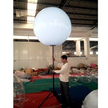 balloon stand inflatable tripod ball led lighting outdoor advertising balloon