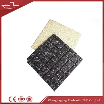 Recyclable Rubber Flooring Sheets Wear-resistant rubber floor mats