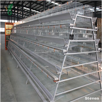 3 layer/4layer vertical automatic battery rabbit cage design for rabbit husbandry