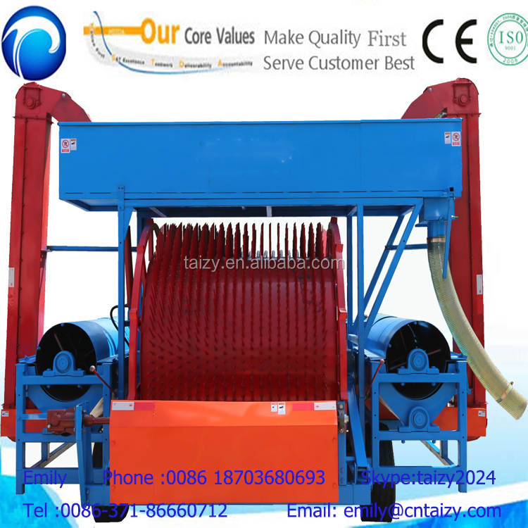 large capacity full automatic watermelon and pumpkin seeds harvesters