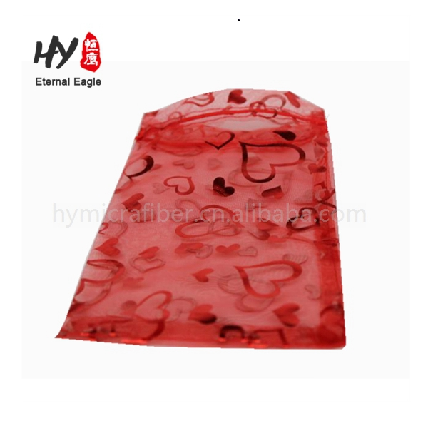 Multifunctional hot recommend fabric printing organza bag