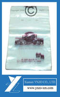 Food grade clear plastic resealable food ziplock bags