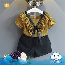 SS-966G cheap fashion hot sell children summer clothes and low price clothes for children