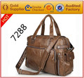 Factory wholesale OEM Custom-made leather handbag laptop briefcase bags for men