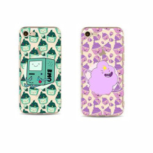 Carvel-built Icecream Cups Protruding Lovely Cartoon Figures Phone Case for iPhone 7 7 Plus, iPhone 6 6plus