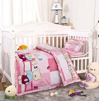 2016 lovely bear pattern baby bedding sets china