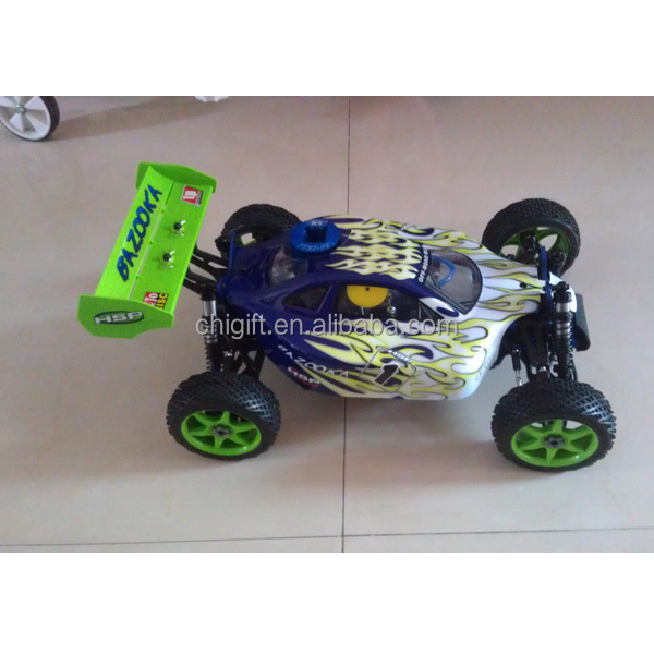 2.4G 1:8 4WD High Speed Gas RC Nitro power off road buggy