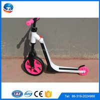 2016 hot sale Aluminum two wheel kid scooter bike/baby walker scooter/balance foot scooter for kids with CE/EN