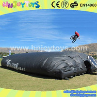 inflatable jump air bag for skiing,inflatable stunt bag for sale