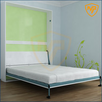 hot sale queen size wall bed mechanism murphy bed