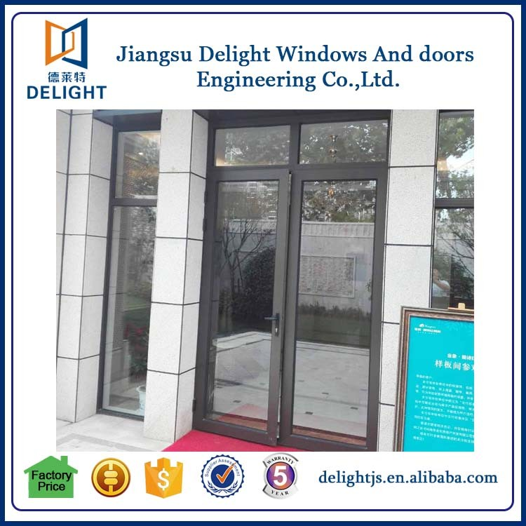 House front aluminum windows and doors with low prices