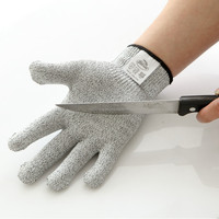 100% cut resistant fiber OEM glass working gloves