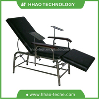 Stainless Steel blood donor chair / blood connection chair