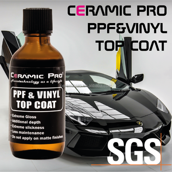 Ceramic Pro PPF & Vinyl Top Coat - High Gloss Film and Wrap protection liquid diamond coating