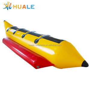 Cheap high quality inflatable towable banana boat/inflatable flying fish/inflatable pool toys