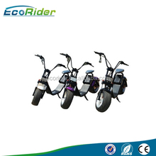 Electric scooter 2017 original factory EEC certification with big wheels fashion design