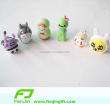 3D rubber product customized small pvc toy