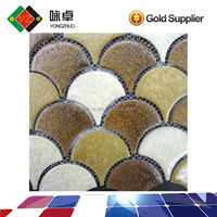 Chinese Style Fish Scale Ceramic Mosaic Tile