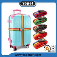 Hot selling wholesale adjustable polyester luggage belt