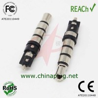 Professional manufacturer male 3.5 mm plug 4 pole connector