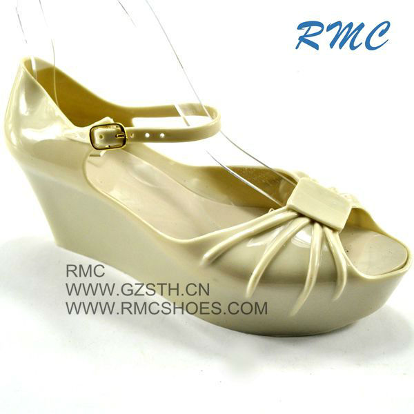 RMC fashion crystal girls high heel sandals