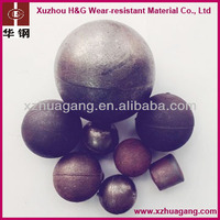 HRC45-65 Chrome iron ore mill grinding media ball