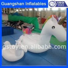 inflatable water floating unicorn for swim pool