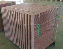 Durable vinyl fence boards,dark brown used cheap vinyl fence,wood plastic composite fence