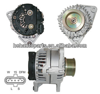 12v small car alternator for Iveco 0124555005 24V 90A