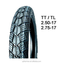 Top quality cheapest price tubeless motorcycle tire 2.50-17