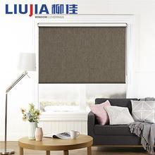 European Style Window Blinds,Manual Blackout Polyester Roller Blinds