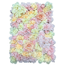 High Quality Silk Pink Flower Wall Peony Flowers Wall Wedding Decor Flower Mat Backdrop