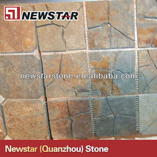 Natural indoor slate wall tile
