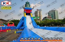 beach water sport games , floating water park inflatable slide