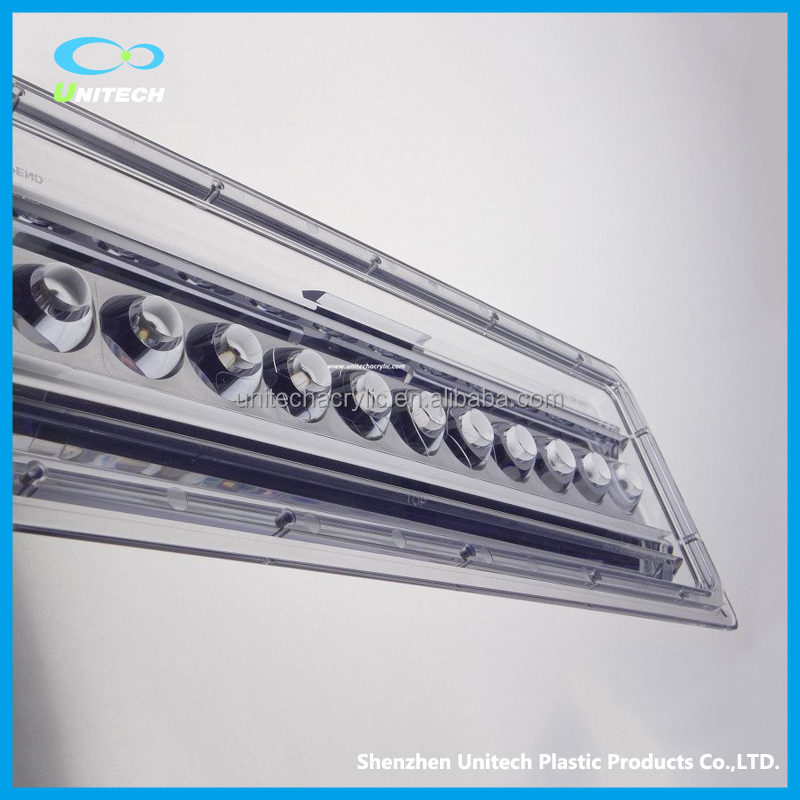 Factory Sale Clear Acrylic LED Light Bar