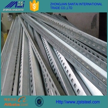 Hot Dipped Galvanized Steel Perforated Angle Iron