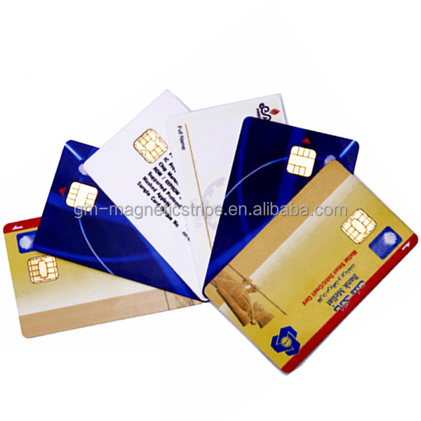 Plastic Card Wth Chip EMV Chip Card