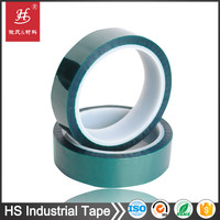 12 year factory Heat resistant insulation easy peel off silicone face mask adhesive polyester tape