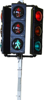 temporary pedestrian traffic lights