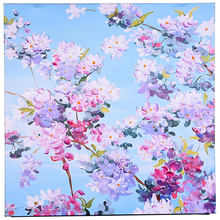 TAOYE Deisgn Wall Pictures 3D Colorful Flower Printed Framed MDF Oil Painting For Hotel