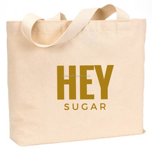 usa market promotional heavy canvas tote bag
