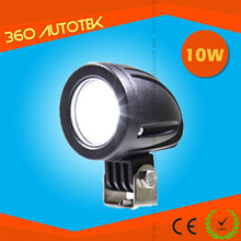 High Performance DC9-50V IP68 10w led work light for Motorbike,ATV with ODM/OEM service