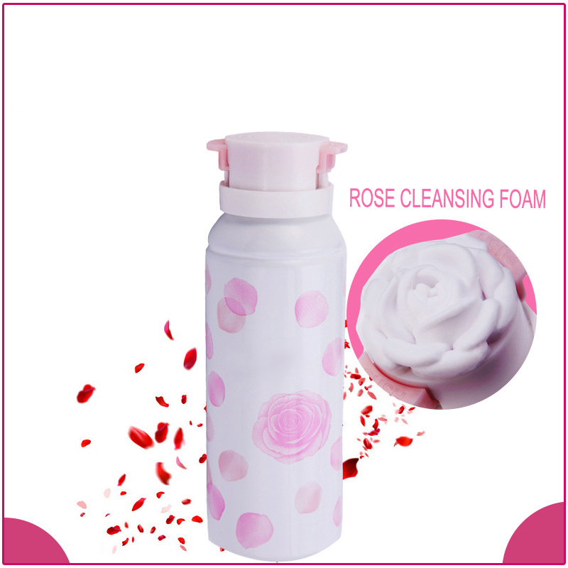 Calm and soothe irritated skin facial washing face cleansing foam