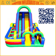 Inflatable Obstacle Slide & China Bounce House & Commercial PVC castle inflatables