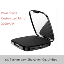 2016 online shopping hong kong power bank with Mirror