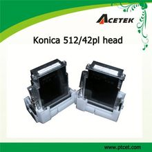 cheap price konica 512/42pl flex print head for outdoor banner printer