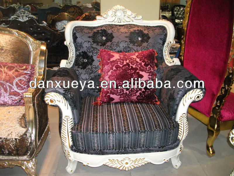 turkish style furniture black rose sofa wooden design